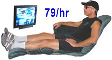 Watching Television - 79 calories per hour