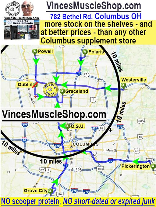 all roads lead to Vince's Muscle Shop