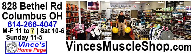 Vince's Muscle Shop, Columbus OH